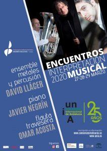 ENCUENTROS DE INTERPRETACIÓN MUSICAL 2020 @ Conservatorio de Linares
