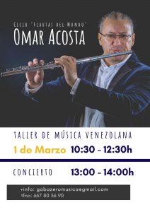 Taller de interpretación de música venezolana en Madrid @ Gabazero