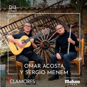 Dúo Omar Acosta y Sergio Menem @ https://www.salaclamores.es/